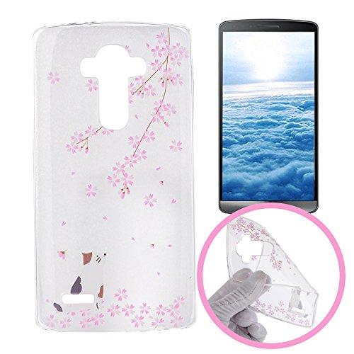 28 opinioni per Silingsan Custodia in Silicone per LG G3 Cover Gomma Gel TPU Soft Slim Case