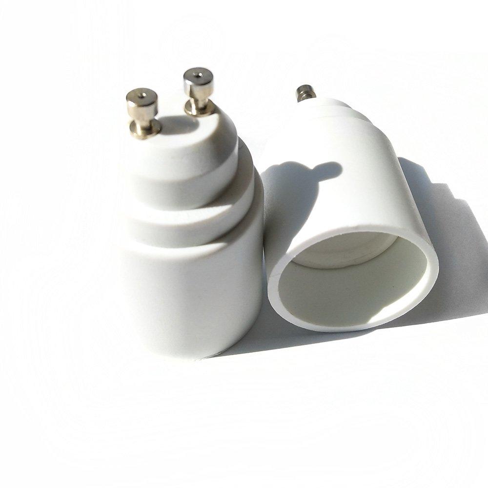 Base Lamp Socket Converter Extender FL-GU10-GU10-05 5-Pack GU10 to GU10 GZ10 Adapter FINELED 2 Pin Bayonet Gu10
