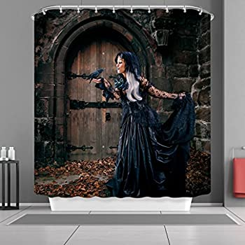 One Bella Casa Witchs Brew Shower Curtain By Kate Ward Thacker Standard 71x