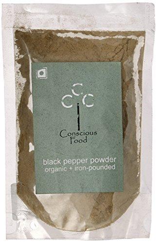 Conscious Food Organic Black Pepper Powder-50g by CONSCIOUS FOOD