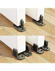 ZEKOO Adjustable Sliding Barn Door Hardware Door Bottom Floor Guide Plastic Limit The Door with Screws (1set)