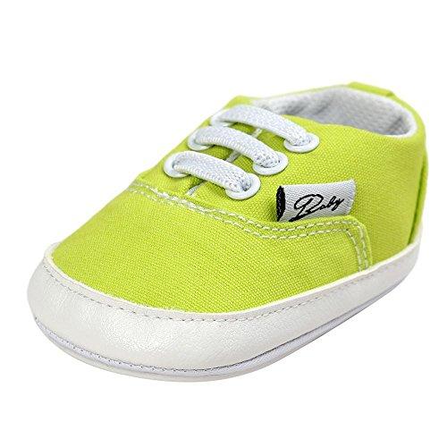 Zapatos de bebé, Switchali zapatos BebéNiña Chicos moda Zapato de lona Recién nacido nino Zapatos casuales Zapatilla Antideslizante Suela blanda barato gran venta Menta verde
