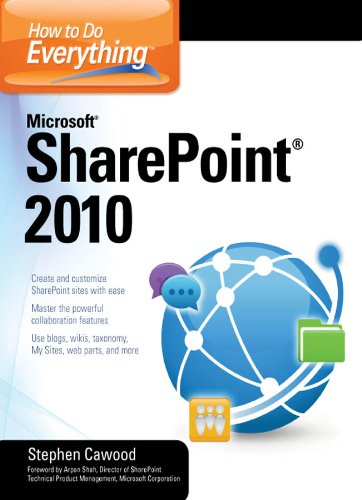 How to Do Everything Microsoft SharePoint 2010 Pdf