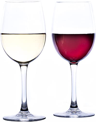 Savona Elegant Unbreakable Wine Glasses