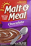 Malt O Meal, Chocolate, Quick Cooking Hot Wheat Cereal, 36oz Box (Pack of 3)