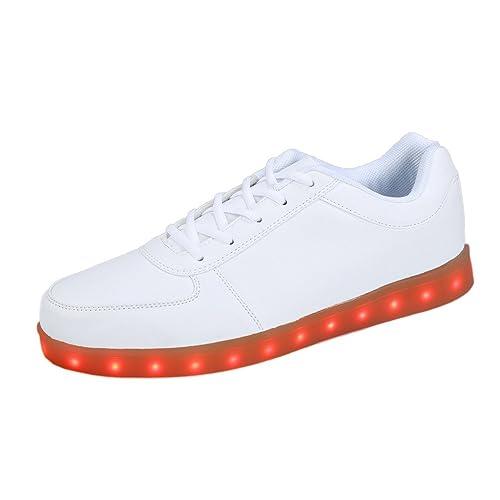 Zapatos con Luces led para Deportivas Zapatillas Fluorescentes de Moda Marcas para Mujer Hombre 2015 (