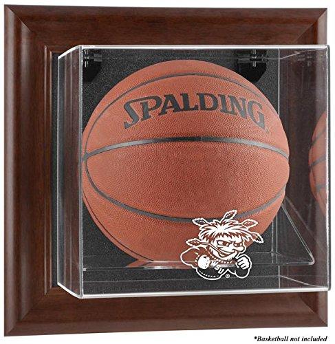 NCAA - Wichita State Shockers Framed Wall Mountable Basketball Display Case by Sports Memorabilia