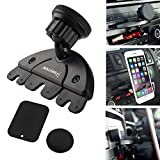 Insten Universal CD Player Slot Magnetic Mobile Phone Car Mount Holder For Nexus 6P; Nexus 5X; Samsung Galaxy S8/S8+ S8 Plus/S7 Edge, LG G4/G6, Apple iPhone X/8/8 Plus 7/7 Plus/6S Plus