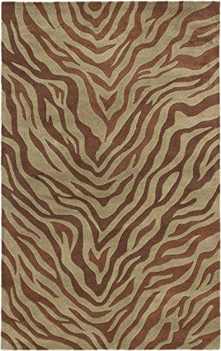 "EcarpetGallery 129118 Trek Casual Hand Tufted Rug, 5'0"" x 8'0"", Brown from eCarpet Gallery"