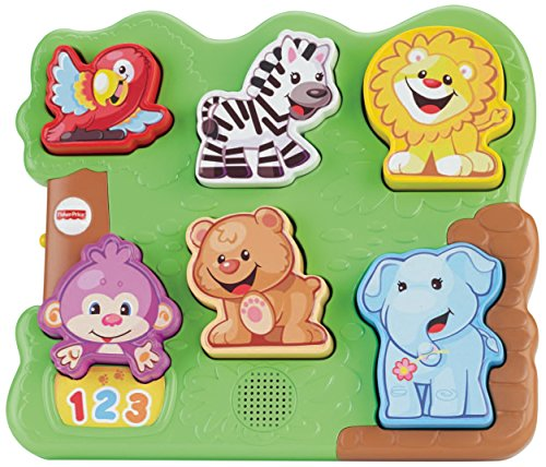 (Fisher-Price Laugh & Learn Zoo Animal Puzzle)