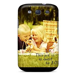 Hot Style WTVXxLJ613PTykk Protective Case Cover For Galaxys3(cute Love Story)