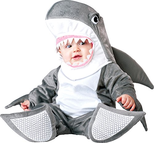 UHC Baby's Silly Shark Safari Fish Outfit Infant Toddler Halloween Costume, (Silly Shark Infant & Toddler Costumes)
