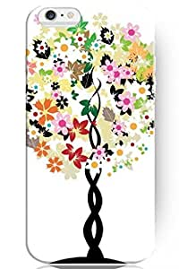 Unique Creative Design Colorful Flowers Sapling Snap on Protective 4.7 Inch iPhone 6 Case Tree of Life by ruishername