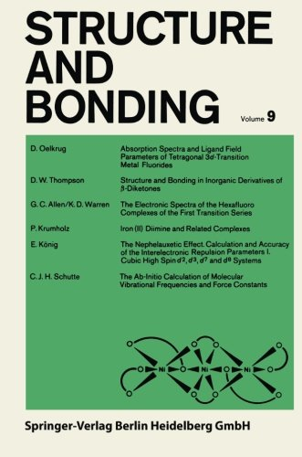 Structure and Bonding, Vol. 9