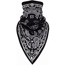 Kingree Balaclava Ski Mask, Motorcycle Helmets Liner Ski Gear Neck Gaiter, Print Series Quick-Dry Mask, Half Face Masks Motorcycle Balaclava For Outside Sports Cycling Hunting Climbing