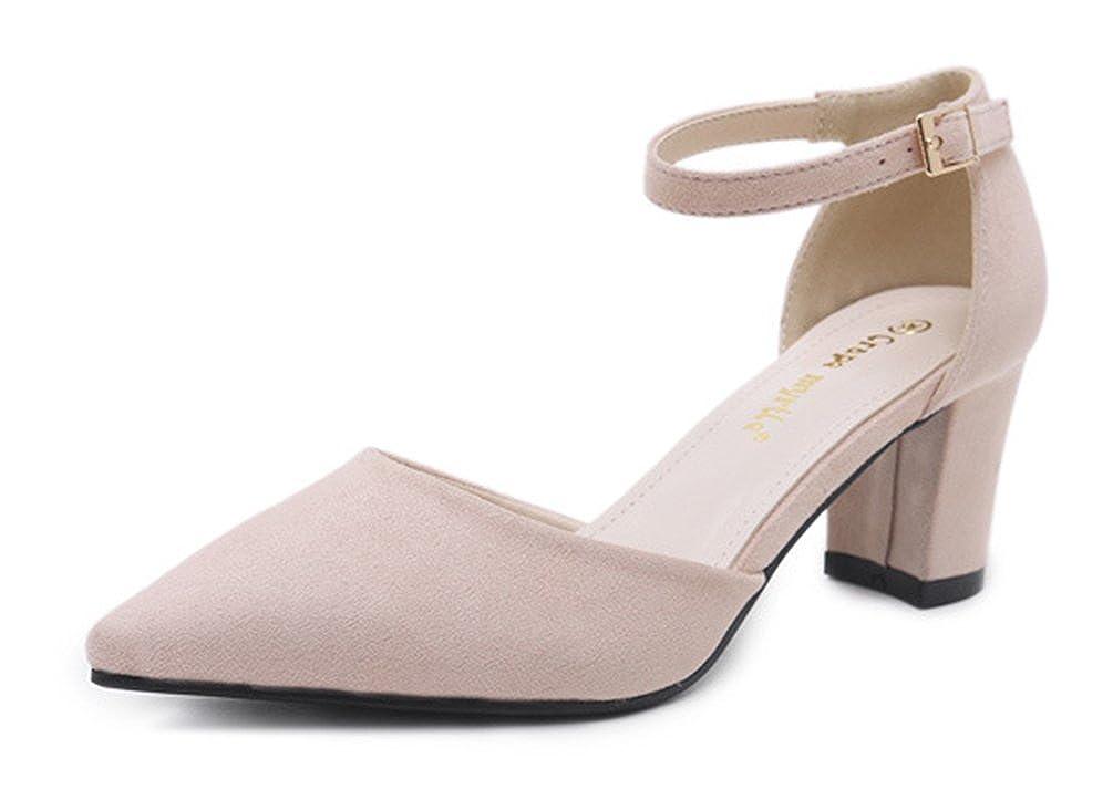 best service f86fc 92f11 SHOWHOW Damen Süß Spitz Zehe Cut Out High Heels Sandaletten ...