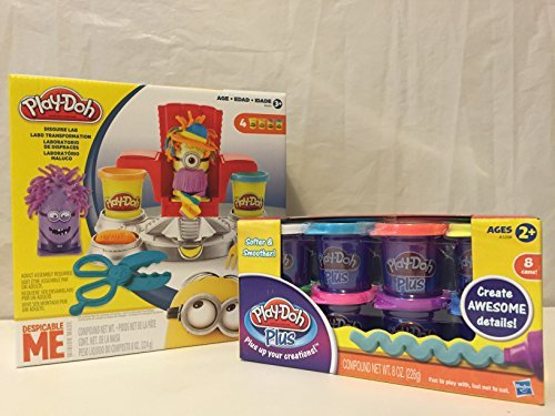 Play-doh Featuring Despicable Me Minions Disguise Lab & Play-doh Plus 8-pack