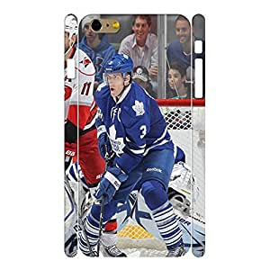 Fabulous Wonderful Hockey Player Action Photo Pattern Skin for Iphone 6 Plus Case - 5.5 Inch