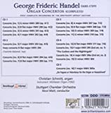 George Frideric Handel: Organ Concertos (First Complete Recording of the Breitkopf Urtext Edition) - Christian Schmitt, Organ / Stuttgart Chamber Orchestra / Nicol Matt
