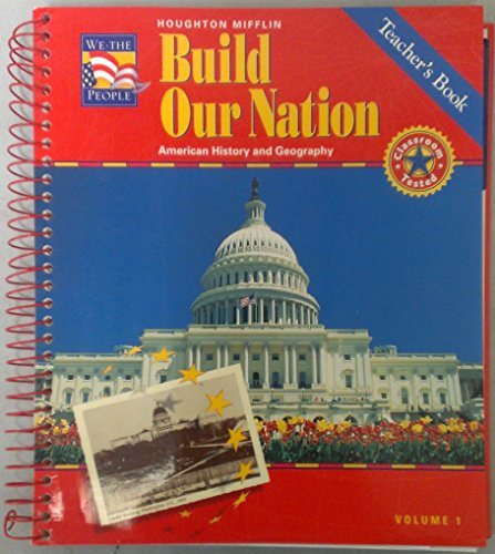Build Our Nation, Level 5, Vol. 1: American History and Geography, Teacher's Book