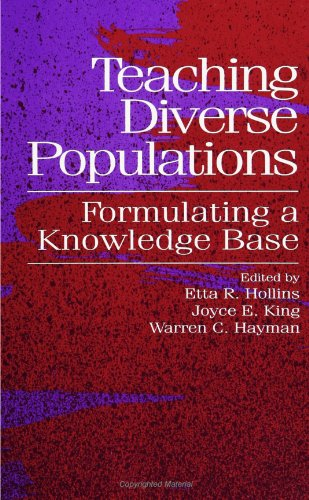 Teaching Diverse Populations: Formulating A Knowledge Base (Suny Series, The Social Context of Education) (Suny Series,