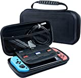 Beilom Nintendo Switch Case - BLACK Protective Hard Portable Travel Carry Case Shell Pouch for Nintendo Switch Console & Accessories