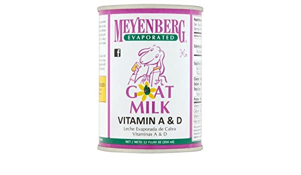 Amazon.com : Meyenberg Evaporated Goat Milk, Vitamin D, 12 Ounce (Pack of 10) : Grocery & Gourmet Food