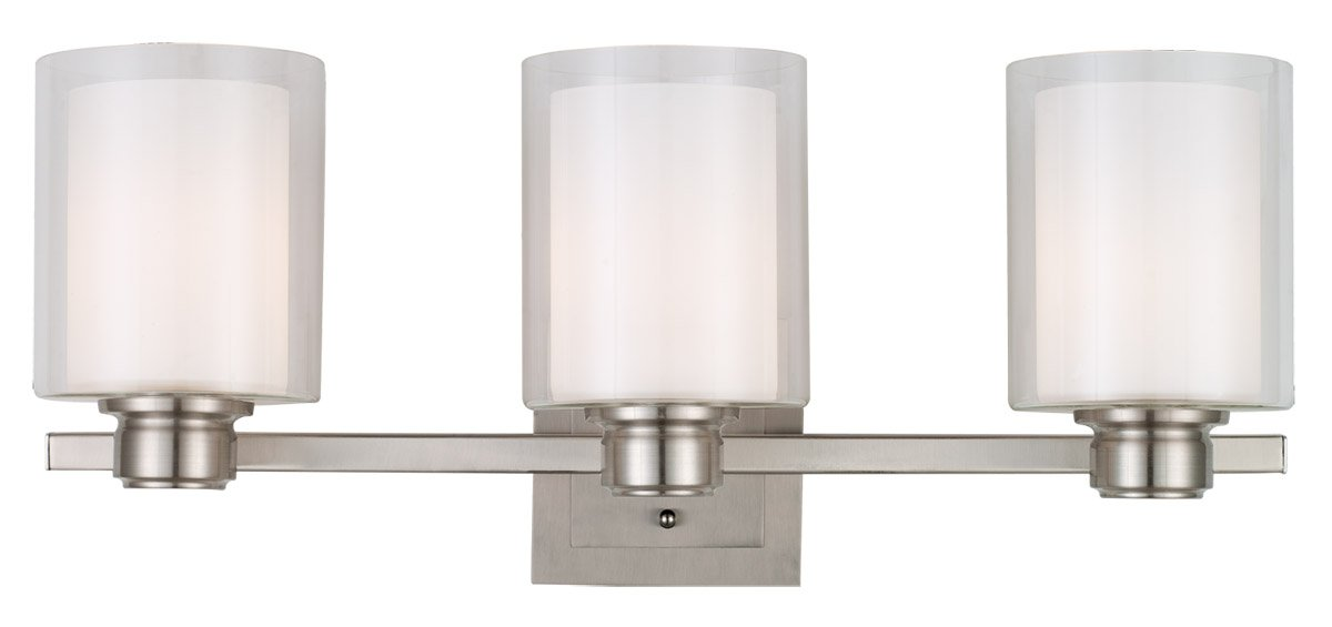 5 light bathroom vanity light. amazoncom design house 556159 oslo 3 light vanity satin nickel home improvement 5 bathroom