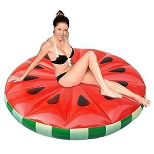 Joyin Toy Watermelon Slice Inflatable Island float
