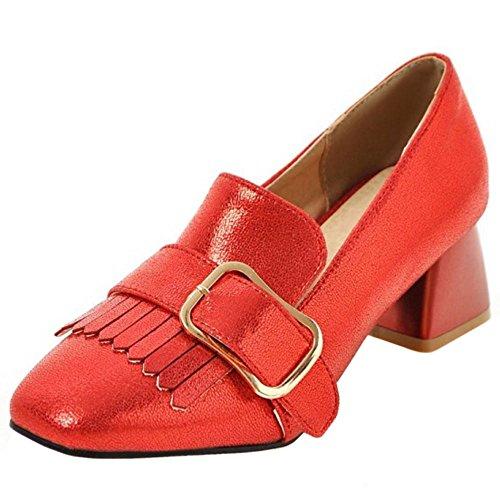 Blocchi Tacchi Melady Donna Brogue Alti 2 red Scarpe 6FFfOaWXq