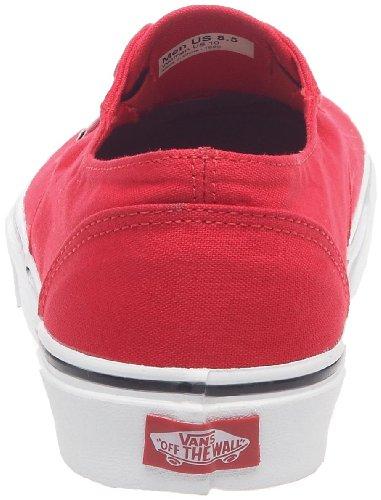 Vans - Zapatillas de tela unisex Rojo