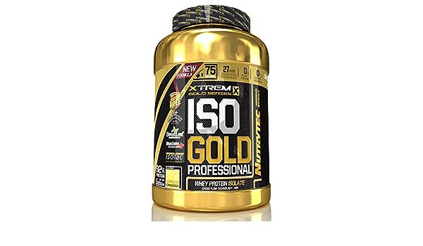 Nutrytec Xtrem Iso Gold Professional 2,25 kg - Galleta Negra ...