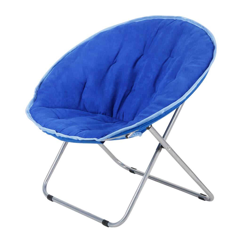 GCHF Moon Chair Erwachsenen Sun Chair Faulen Stuhl Klappstuhl Runden Stuhl Sofa Stuhl