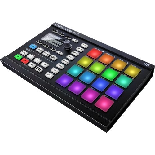 Dedicated Micros Keyboard - Native Instruments Maschine Mikro MK2 Groove Production Studio, Black