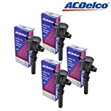 DG508 ACDELCO BS2002 Ignition Coil for Ford 4.6L 5.4L V8 DG457 DG472 DG491 CROWN VICTORIA EXPEDITION F-150 F-250 MUSTANG LINCOLN MERCURY EXPLORER DG-508 19239827 (PACK OF 4)