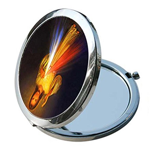 - Ladies Premium Cosmetic Compact Mirror w/Religious Figure (Divine Mercy)