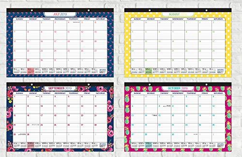 Desk Calendar 2019 Desk Calendar Runs from October 2018 Through December 2019