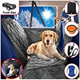 B-comfort Dog Car Seat Covers-Dog Car Hammock-Car Seat Cover For Dogs-Seat Covers For Trucks-SUV-Backseat Dog Hammock-Car Seat Protector For Dogs-Back Seat Cover For Dogs-Pet Seat Cover-Black-54×58 For Sale