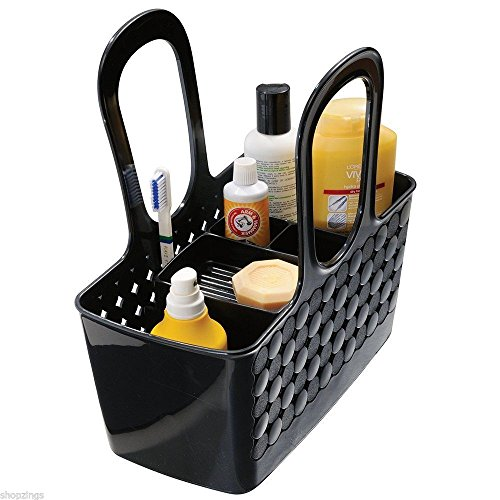 Divided Bath Shower Caddy Tote. Bag Container Organizer Rack Dorm Camp Bathroom