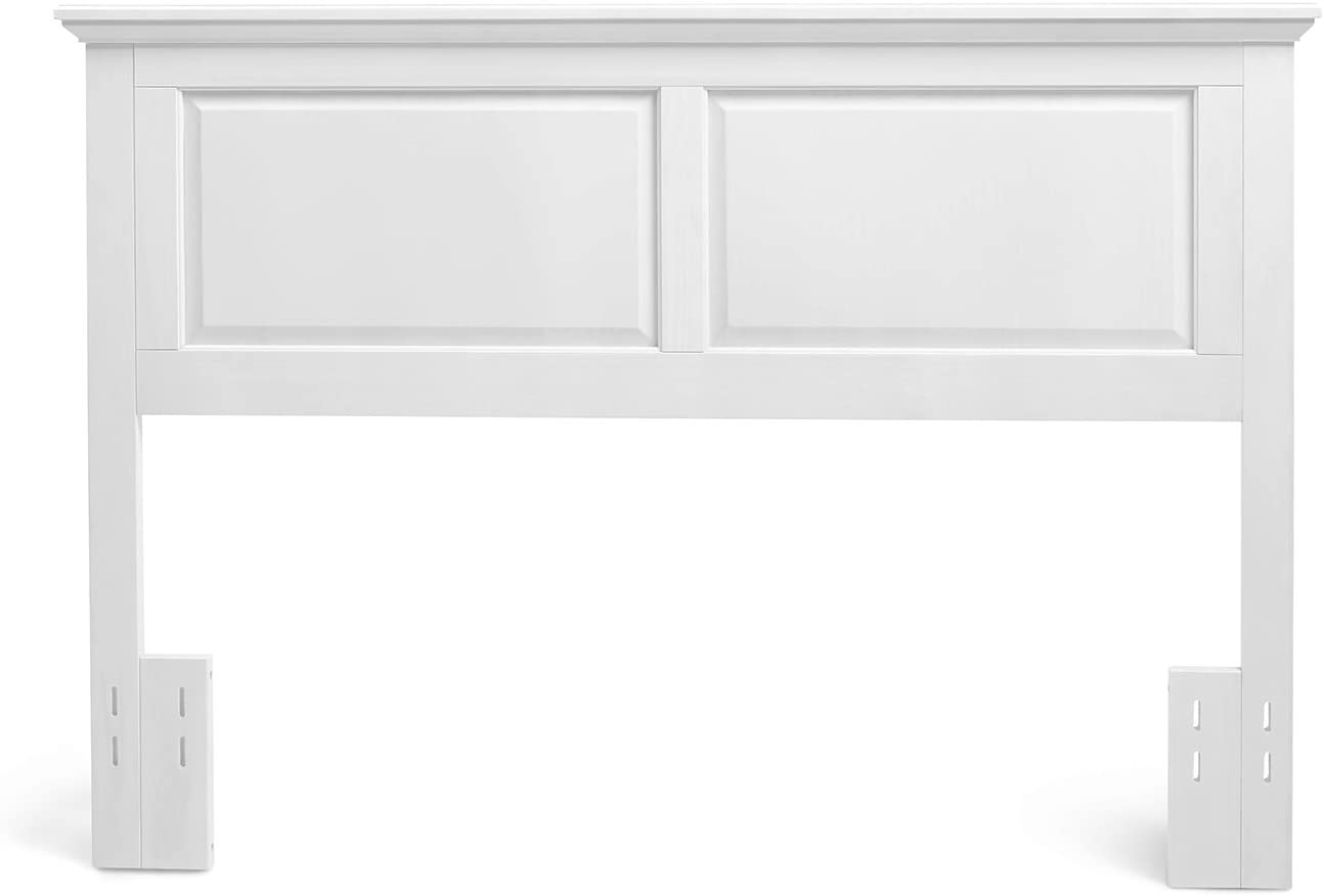 Mantua Arcadia Headboard, Full/Queen, Gloss White Finish