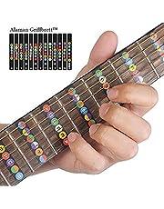 Alaman Toetsenbord, leren notities voor beginners (gitaartoets met kaart zwart)