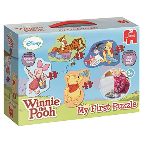 Memory Pooh Game (My First Winnie The Pooh 4 in a Box Puzzles for Little Hands Age 2+)