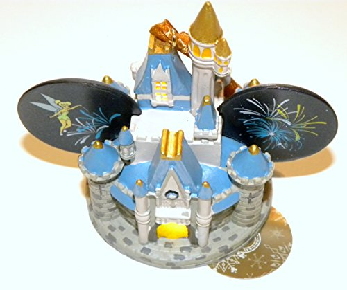 Disney World Park 2014 Light up Ear Hat Cinderellas Castle Christmas Ornament