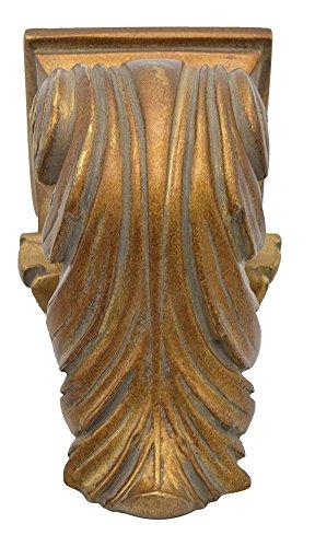 - Urbanest Cameau Drapery Sconce, 2-inch Diameter, English Gold