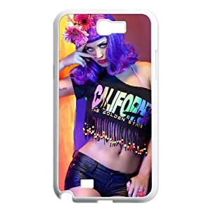 Fggcc Katy Perry Case for Samsung Galaxy Note 2 N7100,Katy Perry Note2 Cell Phone Case (pattern 7)