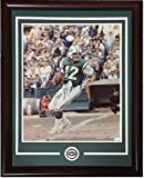 Joe Namath Autographed Signed 16x20 Picture To Boomer Esiason Framed Jets Coin Signature - JSA Authentic