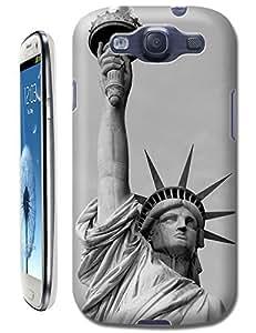 Sangu Statue of Liberty Retro TPU Case / Cover for Samsung Galaxy S3 - Style9