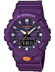 Casio GA800SC-6A G Shock Super Illuminator Mens Watch Purple 54.1mm Resin