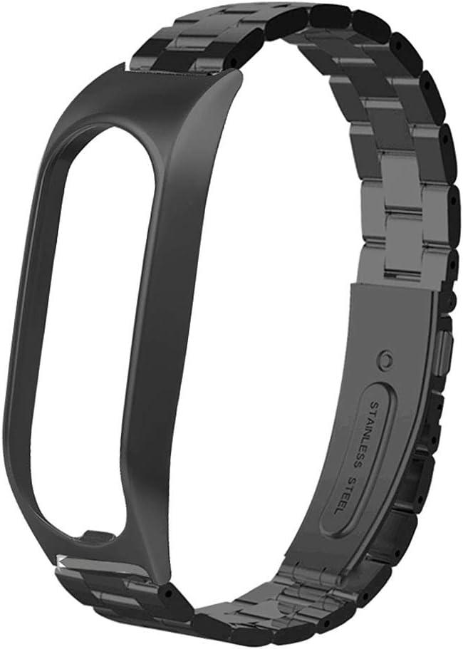BASSK Correa de Reloj de liberación rápida de Metal de Acero Inoxidable Reemplazo de Pulsera de Pulsera para Accesorios de Reloj Inteligente Tomtom Touch