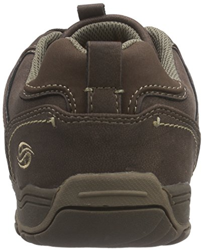 Dockers by Gerli 37ao004-600120, Baskets Basses Homme Marron (Dunkelbraun/Natur 384)